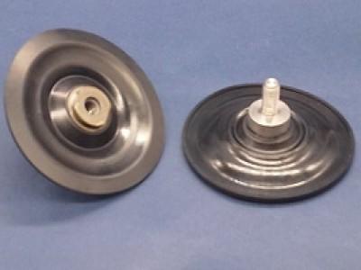 膜片结构:高弹性橡胶搭配高强度工业织布作紧密结合 尺寸: 外径84mm  厚度2.65mm