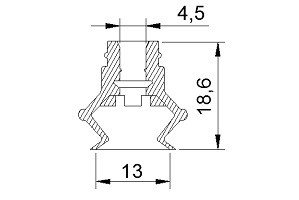 VACUUM PADS ZB2-13