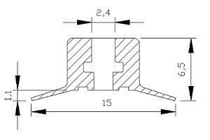 真空吸盤VP1-10