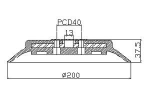 真空吸盤PFG-200