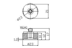 吸盤 S1-23A-A6