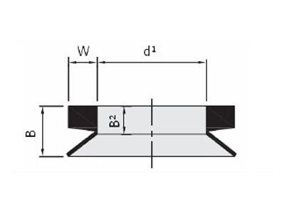 VA-type Axial Seal