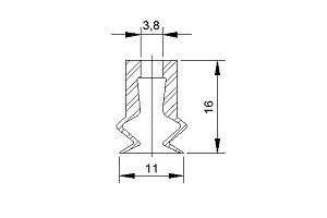 VACUUM PADS S2-11